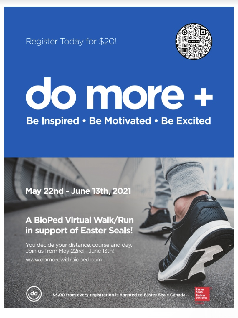 Register today to sign up for Do More  a fundraiser fro Easter Seals