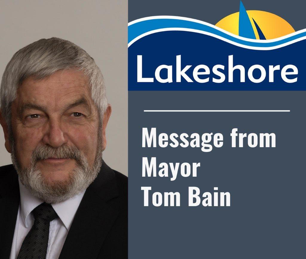 Message from the Mayor May 3, 2020