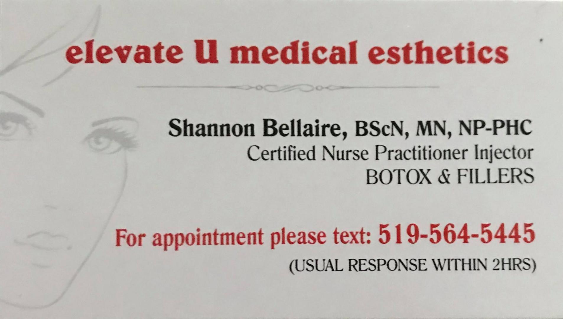 Elevate U Medical Esthetics